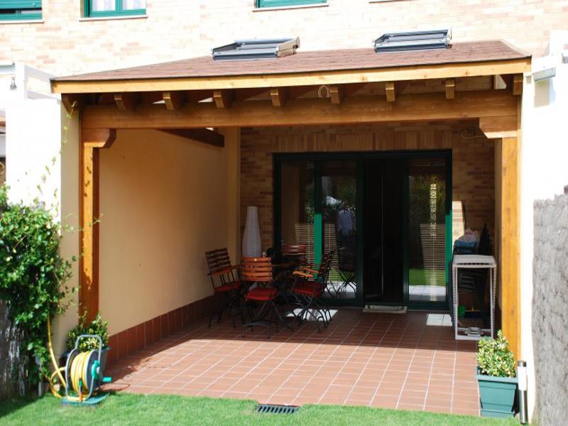 P rgolas de madera maciza - Casas de madera maciza ...